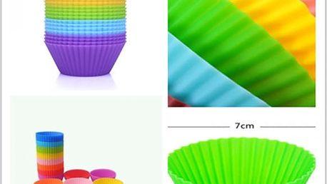 Sada silikonových košíčků na muffiny