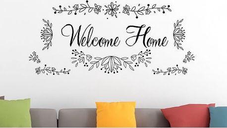 Samolepka na zeď - Welcome Home