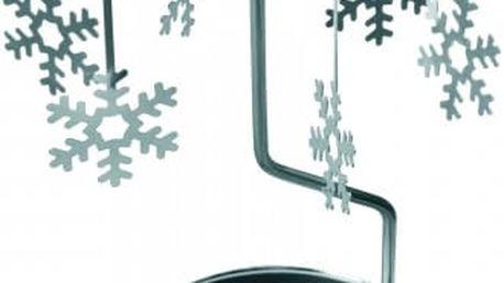 Vánoční dekorace se svíčkou