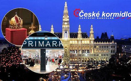 17. 11. 2016 | Adventní Vídeň spojená s nákupy v Primarku | Jendodenní zájezd