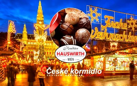 17. 11. 2016 | Zájezd Vídeň a čokoládovna Hauswirth (vstup zdarma)
