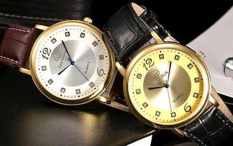 Pánské business hodinky v luxusním provedení - 6 variant
