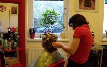 Luxusní kadeřnické balíčky v Plzni. Střih, arganová maska, regenerace i melír