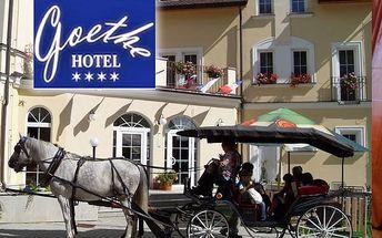 Wellness pobyt pro dva v luxusním hotelu Goethe****s polopenzí. Až 10 wellness procedur pro každého.