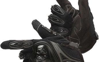 Rukavice na motocykl s možností ovládat dotyková zařízení