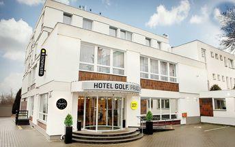 Hotel Golf**** Praha na 3 dny pro 2 osoby se snídaněmi/polopenzí a wellness, do 29.12.2016