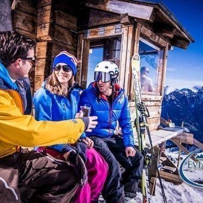 Rakouské Alpy s polopenzí a slevovou kartou