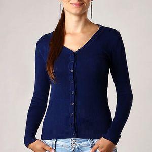 Elegantní svetr tmavě modrá