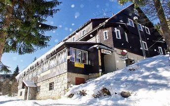 8denní pobyt pro 2 osoby s polopenzí v horském hotelu Flora v Krkonoších