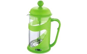 Konvička na čaj a kávu French Press 600 ml zelená RENBERG RB-3101zele