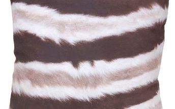 Dekorační polštářek zvířecí srst 45x45 cm