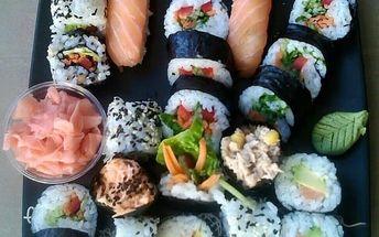 Zážitkový kurz přípravy sushi 18.3. v Pardubicích - nejběžnější druhy sushi