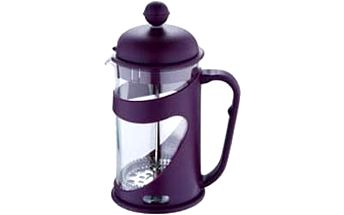 Konvička na čaj a kávu French Press 600 ml fialová RENBERG RB-3101fial