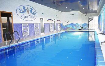 3–5denní wellness pobyt v Relax centru Aqua Vital u Bojnic pro 2 se snídaněmi