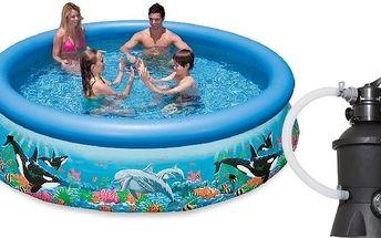 Marimex Bazén Tampa Ocean 3,05x0,76 m s pískovou filtrací - 10340149