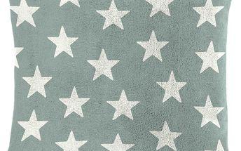 Dekorační polštářek Mistral Home beránek Portland hvězdičky 40x40 cm