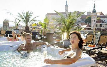 3–4denní pobyt s neomezeným vstupem do Aquaworldu v hotelu Galant**** v Mikulově