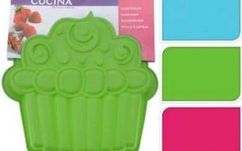 Forma na dort ve tvaru muffinu, zelená ProGarden KO-641500970zele