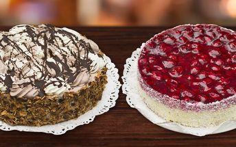 Lahodné dorty z Cukrárny Pod kaštany