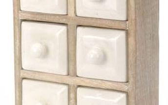 Skříňka 23x9,5x30 cm, dřevo mango EXCELLENT KO-A44300640