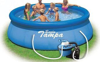 Marimex Bazén Tampa 3,66x0,76 m s pískovou filtrací - 10340102