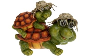 Zahradní dekorace želva s malou želvou na zádech - Typ 2 ProGarden KO-252550860typ2