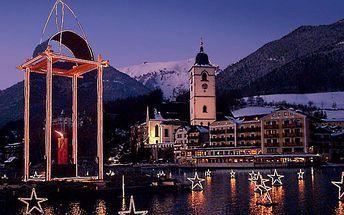 Advent na rakouském jezeře Wolfgangsee