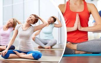 Permanentka - jóga, power jóga, hot jóga a další - nejenže Vám toto cvičení posílí a zpevní svaly, ale má také pozitivní vliv na psychickou kondici, budete se cítit a vypadat mladší a celkově budete krásnější! Vhodné i pro začátečníky.V nabídce také priv