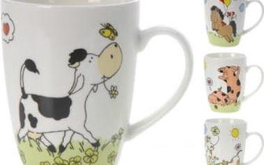 Hrnek porcelánový dětský 300 ml, zvířátka II ProGarden KO-Q75880080