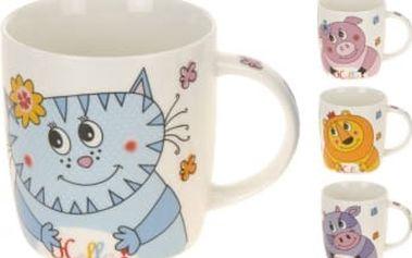 Hrnek porcelánový dětský 340 ml, zvířátka I ProGarden KO-480000160