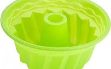 Forma na bábovku silikonová 23 cm, zelená RENBERG RB-3666zele