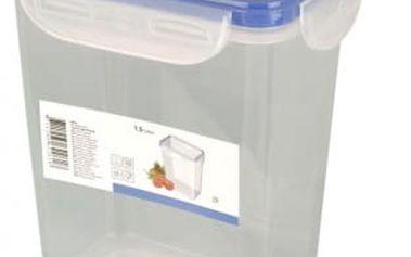 Dóza plastová s klip víčkem 1,5 l ProGarden KO-Y54004040