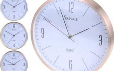 Hodiny nástěnné 30 cm 3 designy ALU ProGarden KO-YP7164400