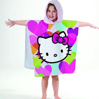 Pončo Hello Kitty Mimi Love Polka