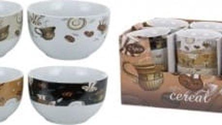 Miska keramika 13x7 cm, 4 druhy EXCELLENT KO-Q75500140