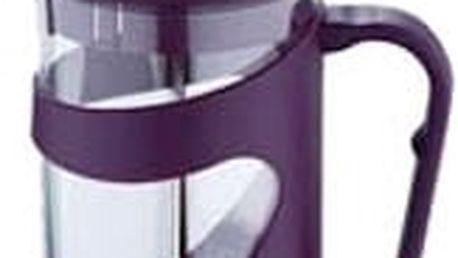 Konvička na čaj a kávu French Press 350 ml fialová RENBERG RB-3100fial