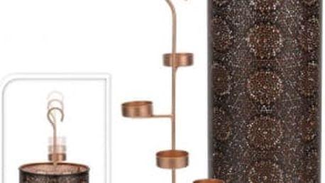 Dekorativní svícen na 4 čajové svíčky vysoký 50 cmProGarden KO-A04420310
