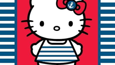 Osuška Hello Kitty námořnice