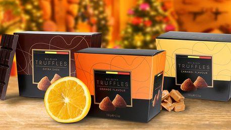 Nejlepší dílo belgických mistrů: Čokoládové truffles