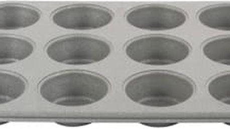 Plech na pečení na 12 muffin Gray Granit BLAUMANN BL-1584
