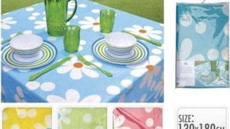Ubrus 180 x 130 cm květiny KO-DZ4000140