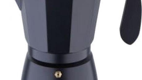 Konvice na espresso, 12 šálků, černá BERGNER SG-3518