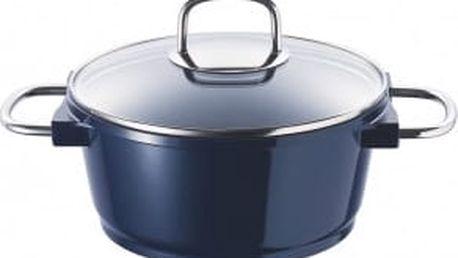 Hrnec s keramickým povrchem 24 cm 4,5 l BLUE KNIGHT BERGNER BG-8656