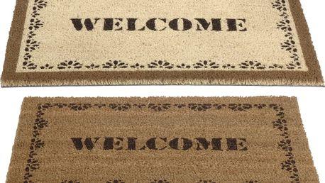 Kokosová rohožka Welcome 40x60cm