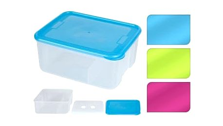 Svačinový box s chladicí vložkou, 19 x 15 cm, zelená ProGarden KO-985631zele