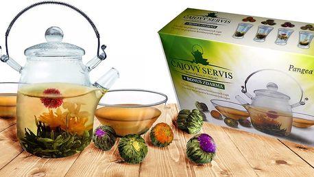 Dárkové sety na kvetoucí čaj Blooming Tea