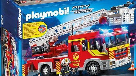 Playmobil 5362 hasičské auto se žebříkem