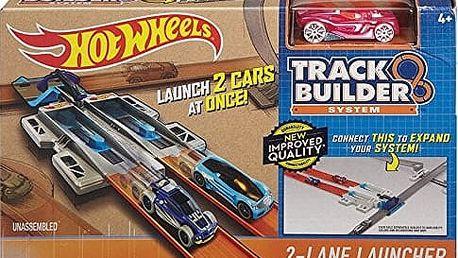Hot Wheels Track Builder doplňky a dráhy - 2-Lane Launcher