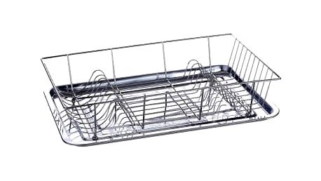 Odkapávač na nádobí s tácem nerez/chrom BLAUMANN BL-1166