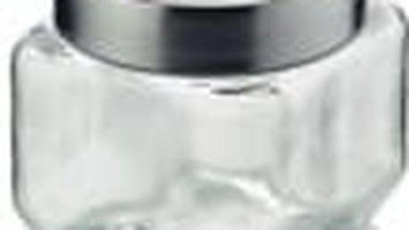 Dóza SIRO sklo/nerez šedá 0,75L KELA KL-11851